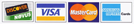 Accepted Credit Cards are Discover, Visa, MasterCard and American Express